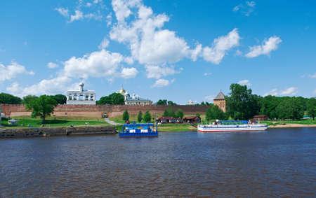 veliky: Veliky Novgorod.Novgorod Kremlin.Russia