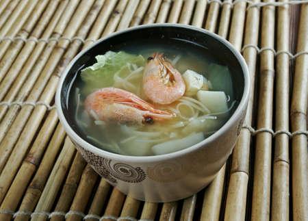 seafood soup: Cantonese seafood soup - seafood soup within Cantonese cuisine.