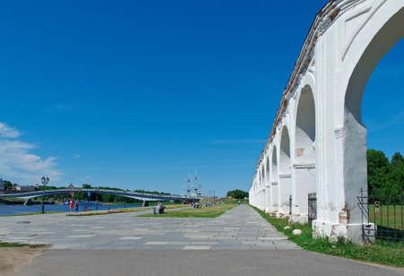 veliky: Veliky Novgorod, Yaroslav Courtyard. Landmarks Russia