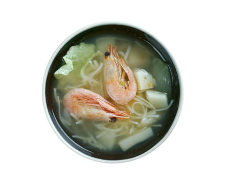 seafood: Cantonese seafood soup - seafood soup within Cantonese cuisine.  found in Hong Kong,