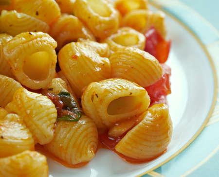pasta: pasta alla carrettiera - receta siciliana para chifferi pasta italiana
