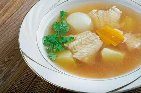 fishy: Zuppa di pesce - Italian fish soup Stock Photo
