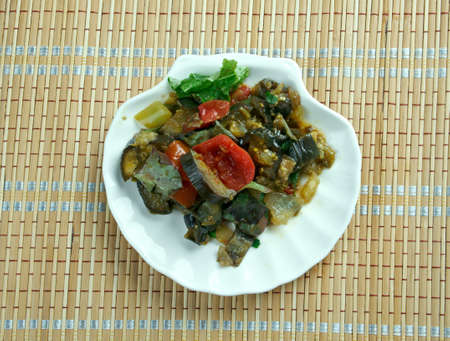 babylonian: Marga Betinjan -  popular Mediterranean dish