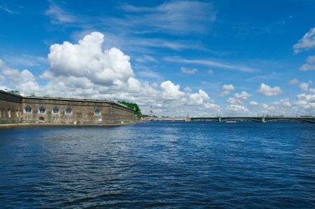 saints peter and paul: Saint-Petersburg, Saints Peter and Paul fortress .Russia.June 4, 2015