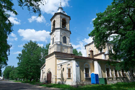 the old church: Orthodox old church built. Vologda city, Russia