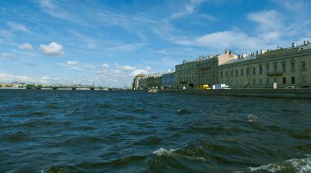 neva: Neva river .Saint-Petersburg, Russia