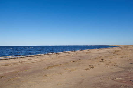 seaboard: seaboard White Sea .Russia, Arkhangelsk region.