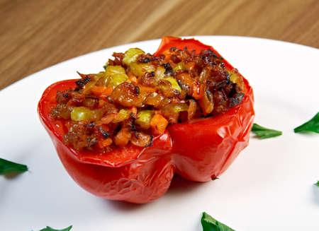 stuffed: Stuffed pepper