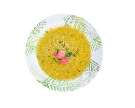 taxista: Partan bree -  seafood soup Scotland.
