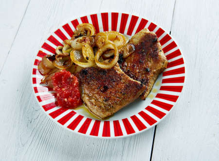 masala: Garam Masala Pork Chops - Central Asian dish