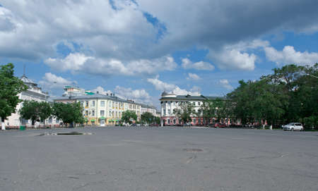 historic: historic building - Vologda city, Russia