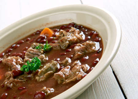 british cuisine: Brown Windsor soup -  hearty British meat soup. popular during the Victorian and Edwardian eras.