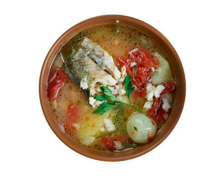 cossack: scherba - Russian Cossack fish soup