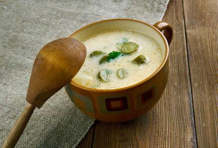 pickle: Polevka okurkova - Czech Potato Pickle Soup