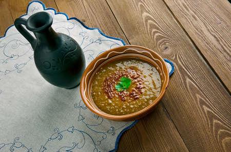 lenteja: Merji shorbasi - sopa de lentejas rojas