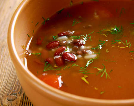 black gram: Kwati - mixed soup of sprouted beans.Nepalese cuisine