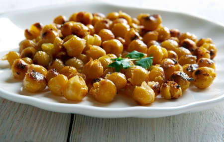 Leblebi - snack made from roasted chickpeas