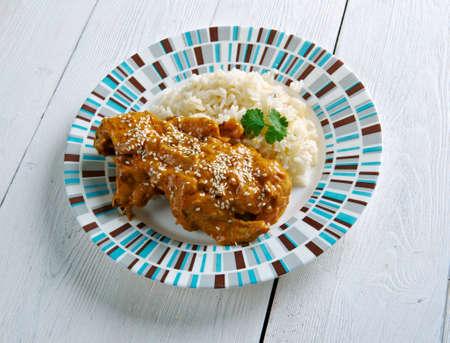 guatemalan: Guatemalan Pepian Sauce for Stewed Chicken