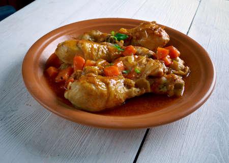 jamaican food: Jamaican Brown Stew Chicken