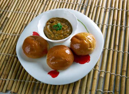 rajasthani: Dal Baati Churma - Rajasthani cuisine.