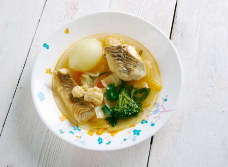 palate: Zambia's Spiced Tilapia Stew.African cuisine Stock Photo