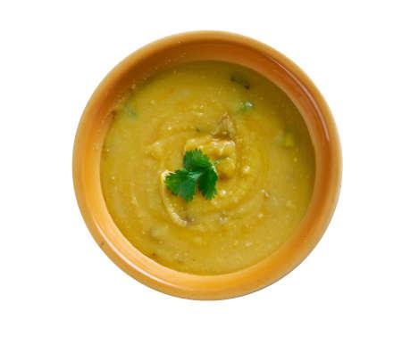 Dhal Baht - Vegan Spiced Yellow Split Peas
