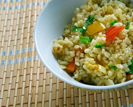 armenian: Armenian Bulgur Pilaf Salad - Itch.