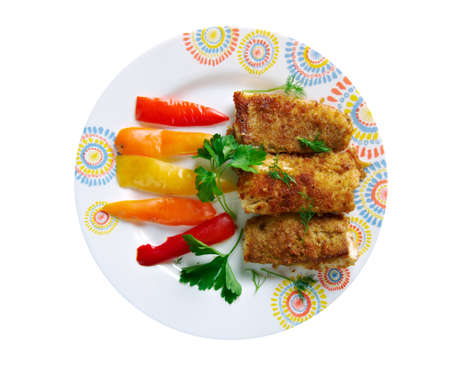 jamaican: Jamaican Escovitch Fish - long adored the British tradition of dousing Fish and Chips with vinegar.