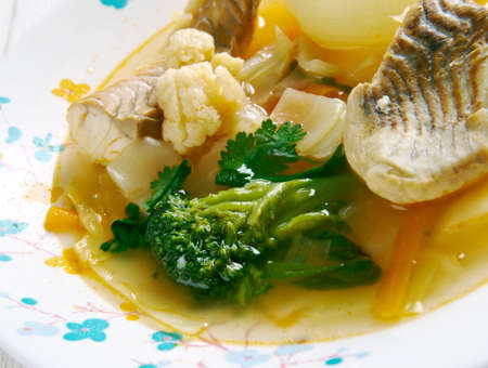 spiced: Zambia's Spiced Tilapia Stew.African cuisine