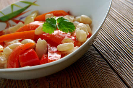 armenian: Lupia Plaki  - Armenian White Bean Plaki . Armenian Meza