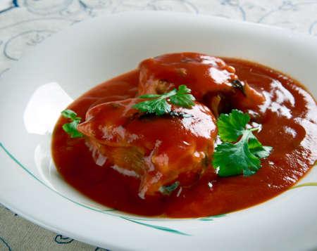 red palm oil: Nigerian Fish Stew - Obe Eja Tutu.African cuisine