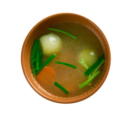 poaching: Court-bouillon  flavored liquid for poaching or quick-cooking foods.