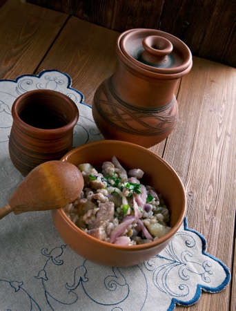 estonian: Mulgikapsad - Estonian stew withpork, cabbage and barley.