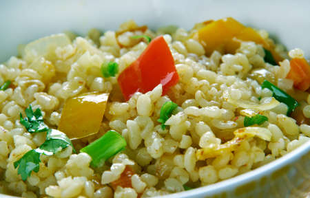 itch: Armenian Bulgur Pilaf Salad - Itch.