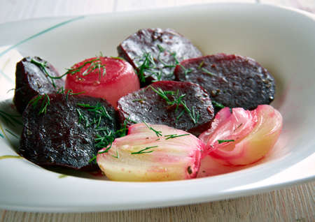 balsamic: Balsamic Roasted Beet  and Onion