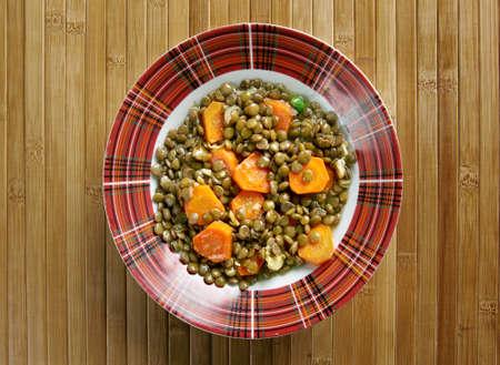 nourish: Eritrean Lentil Stew - Wat. close up Stock Photo