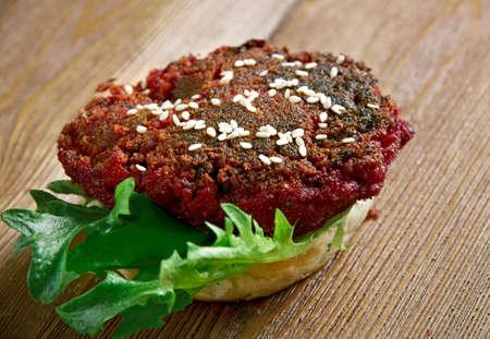 quarter: Quarter Pounder Beet Burger