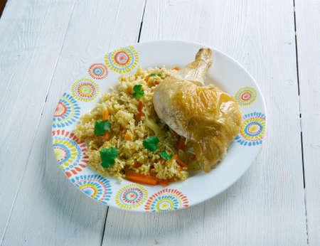 hyderabad: Chicken Dum Biryani  - Hyderabad dum biryani.Indian kitchen