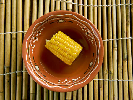 mealie: Coconut Curried Corn - Galey iyo Qumbo.appetizer in Somalia. African cuisine