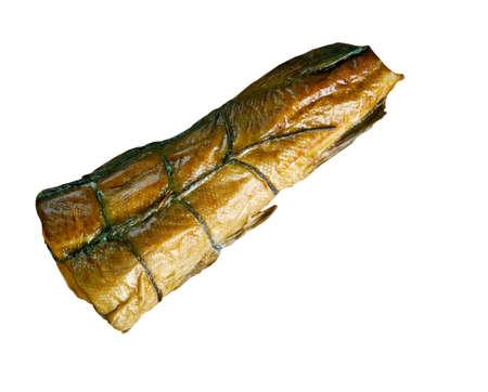 uk cuisine: Arbroath smokie  type of smoked haddock  of Arbroath in Angus, Scotland. Stock Photo