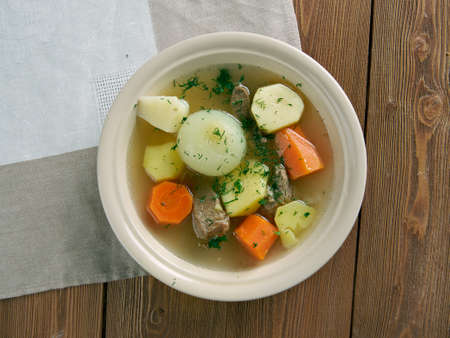 whatever: Fricot -  Stew traditional Acadian dish.consist of potatoes, onions, and whatever meat .Canadian cuisine