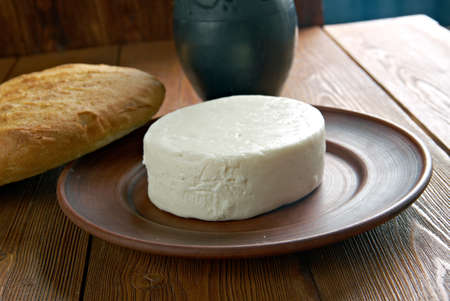 circassian: Circassian cheese - found across the North Caucasus, the Levant and other areas with a Circassian diaspora.