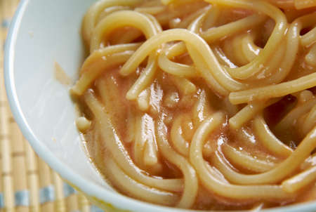sopa: Tex-Mex Fideo Soup.mexican version of past.Mexican Pasta with Vegetables and Chile