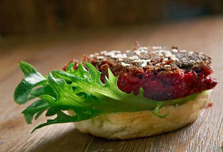 beet: Quarter Pounder Beet Burger