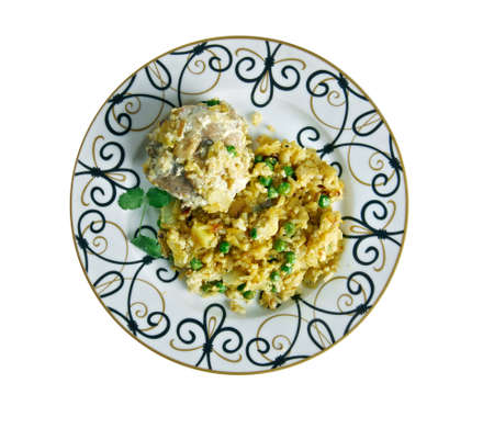 basmati rice: Murgh Pulao - Indian Chicken With Basmati Rice