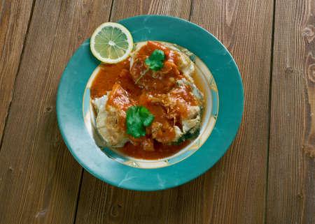cazuela: cazuela de pescado colombiana Seafood Stew