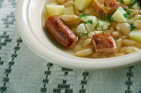 ry: Moravian bean soup. Czech cuisine