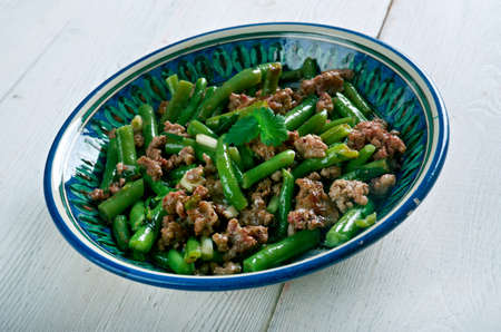 tender: Etli Fasulye - Turkish Tender Green Beans with Meat