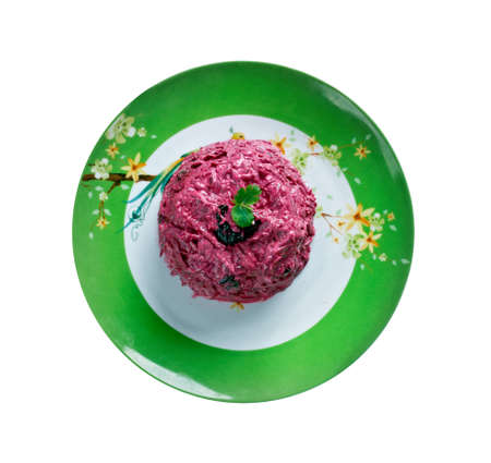 remolacha: ensalada de remolacha con ciruelas