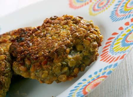 lenteja: Ambode- Benga lenteja, buñuelos de vegetales